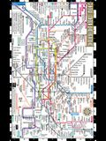 Streetwise London Underground Map - Laminated Map of the London Underground, England