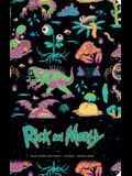Rick and Morty Hardcover Ruled Journal