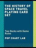 The History of Space Travel Playing Cards: Two Decks of Cards and Game Rules Booklet with Space Trivia