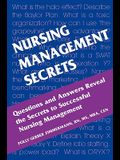 Nursing Management Secrets