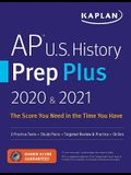 AP U.S. History Prep Plus 2020 & 2021: 3 Practice Tests + Study Plans + Review + Online