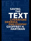 Saving the Text: Literature, Derrida, Philosophy