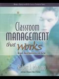 The ASCD: Classr Manage That Works