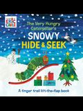 The Very Hungry Caterpillar's Snowy Hide & Seek: A Finger Trail Lift-The-Flap Book