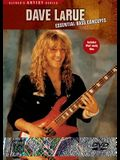 Dave Larue -- Essential Bass Concepts: DVD
