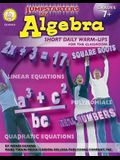 Jumpstarters for Algebra, Grades 7 - 12: Short Daily Warm-Ups for the Classroom