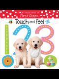 Touch and Feel 123: Scholastic Early Learners (Touch and Feel)