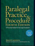 Paralegal Practice & Procedure: A Practical Guide for the Legal Assistant