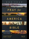 The One Year Pray for America Bible NLT (Softcover)