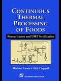 Continuous Thermal Processing of Foods: Pasteurization and Uht Sterilization
