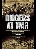 Diggers at War: Accounts of Australians During the Great War in the Middle East, at Gallipoli and on the Western Front: Over There W