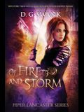 Of Fire and Storm: Piper Lancaster Series #2