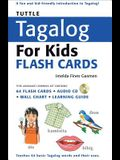 Tuttle Tagalog for Kids Flash Cards Kit: [includes 64 Flash Cards, Audio CD, Wall Chart & Learning Guide] [With CD (Audio)]