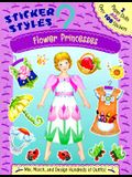 Sticker Styles: Flower Princesses