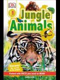 DK Readers L1: Jungle Animals: Discover the Secrets of the Jungle!