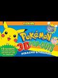 Pokemon 3D Pop Outs: Pikachu & Friends