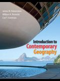 Introduction to Contemporary Geography Plus Mastering Geography with Etext -- Access Card Package