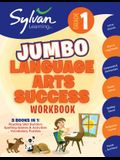 1st Grade Jumbo Language Arts Success Workbook: Activities, Exercises, and Tips to Help Catch Up, Keep Up, and Get Ahead