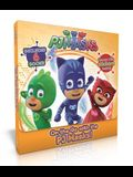On the Go with the Pj Masks!: Into the Night to Save the Day!; Owlette Gets a Pet; Pj Masks Make Friends!; Super Team; Pj Masks and the Dinosaur!; S
