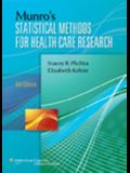 Munro's Statistical Methods for Health Care Research: 0