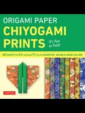 Origami Paper - Chiyogami Prints - 6 3/4 - 48 Sheets: Tuttle Origami Paper: High-Quality Double-Sided Origami Sheets Printed with 8 Different Pattern