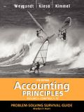 Accounting Principles, with Pepsico Annual Report, Problem Solving Survival Guide, Volume I, Chapters 1-13