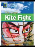 The Great Kite Fight + Book with Multi-ROM: Footprint Reading Library 2200