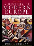 A History of Modern Europe: From the French Revolution to the Present