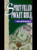 Spirit Filled Pocket Bible-Finance