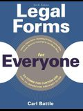 Legal Forms for Everyone: Leases, Home Sales, Avoiding Probate, Living Wills, Trusts, Divorce, Copyrights, and Much More