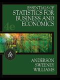 Essentials of Statistics for Business and Economics (with CD-ROM and InfoTrac) (Available Titles CengageNOW)