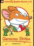 Geronimo Stilton Graphic Novels 3 Volume Boxed Set