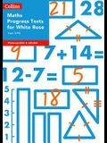 Collins Tests & Assessment - Year 3/P4 Maths Progress Tests for White Rose