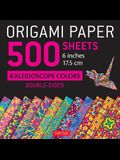 Origami Paper 500 Sheets Kaleidoscope Patterns 6 (15 CM): Tuttle Origami Paper: High-Quality Double-Sided Origami Sheets Printed with 12 Different De