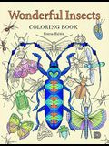 Wonderful Insects Coloring Book