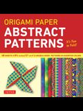 Origami Paper - Abstract Patterns - 8 1/4 - 48 Sheets: Tuttle Origami Paper: High-Quality Large Origami Sheets Printed with 12 Different Designs: Ins