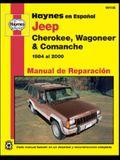 Jeep Cherokee, Wagoneer & Comanche Manual de Reparacion