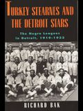 Rkey Stearnes and the Detroit Stars: He Negro Leagues in Detroit, 1919-1933