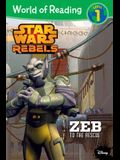 World of Reading Star Wars Rebels Zeb to the Rescue: Level 1