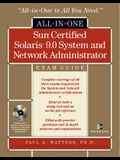 Sun Certified Solaris 9.0 System and Network Administrator: Exam Guide [With CDROM]