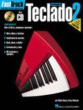 Fasttrack Keyboard Method - Spanish Edition: Book 2