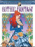 Creative Haven Gothic Fantasy Coloring Book