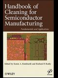 Handbook for Cleaning for Semiconductor Manufacturing: Fundamentals and Applications