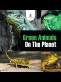 Green Animals On The Planet