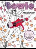 Bowie: A Michael Allred Coloring Book: The Unauthorized Coloring Book Based on the New York Times-Bestselling Graphic Novel Bowie!