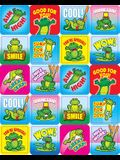 Frogs Motivational Stickers