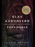 Olav Audunssøn: II. Providence