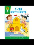 School Zone Numbers 1-25 Dot-To-Dots Workbook