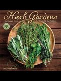 Herb Gardens 2020 Wall Calendar: Recipes & Herbal Folklore by Maggie Oster