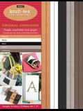 Kraft-Tex Sampler 5-Colors Original Unwashed: Kraft Paper Fabric, 10-Sheets 8.5 X 11